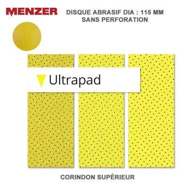 Disque abrasif 115 mm Ultrapad 25 pièces
