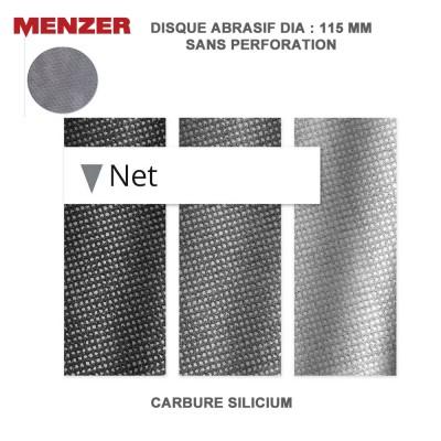 Disque abrasif  115 mm Net 25 pièces