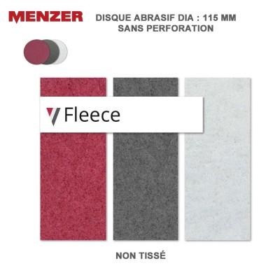 Disque abrasif  115 mm Fleece 10 pièces
