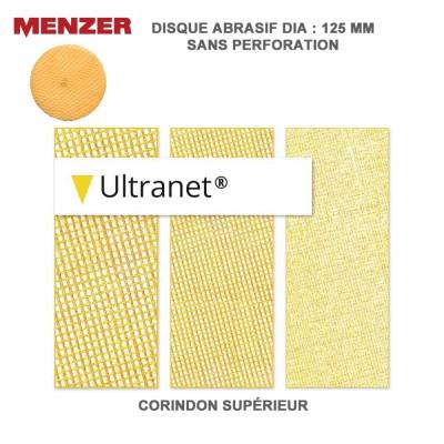 Disque abrasif 125 mm Ultranet 25 pièces