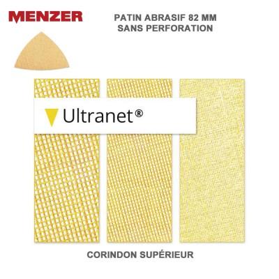 Patin abrasif 82 x 82 mm Ultranet 25 pièces
