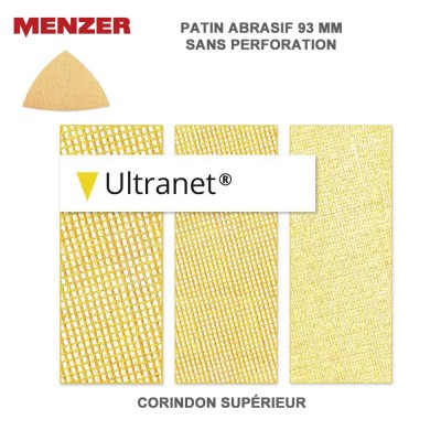 Patin abrasif 93 mm Ultranet 25 pièces