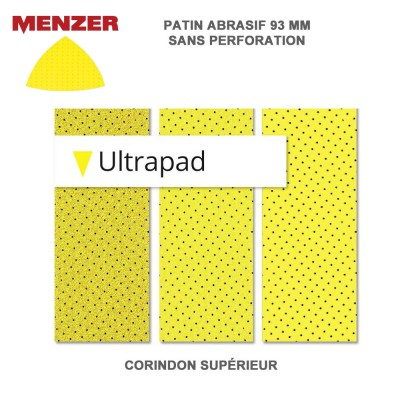 Disque abrasif 93 mm Ultrapad 25 pièces