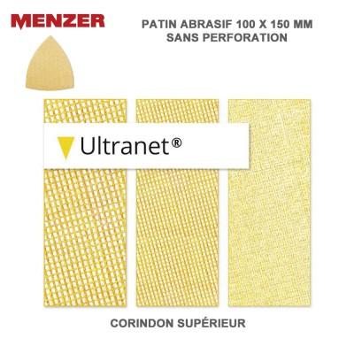 Patin abrasif 100 x 150 mm Ultranet 25 pièces