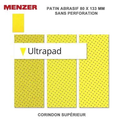 Patin abrasif 80 x 133 mm Ultrapad 25 pièces