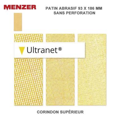Patin abrasif 93 x 186 mm Ultranet 25 pièces