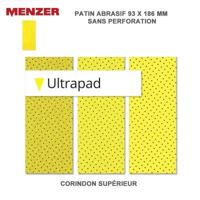 Patin abrasif 93 x 186 mm Ultrapad 20 pièces