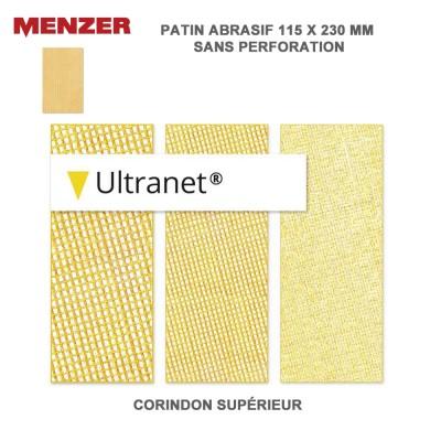 Patin abrasif 115 x 230 mm Ultranet 25 pièces