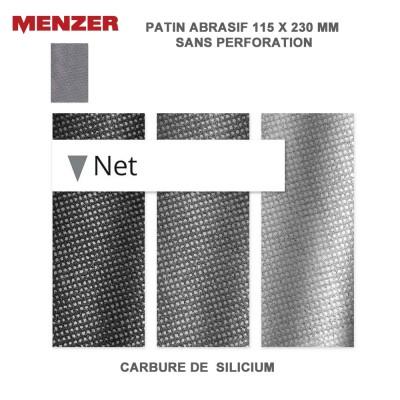 Patin abrasif 115 x 230 mm Net 20 pièces
