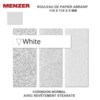 Éponge à poncer 115 x 125 mm White 10 pièces