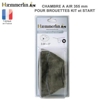 Chambre à air diam 355 mm pour brouette