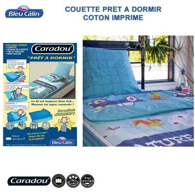 Couette microfibre - Caradou 1 Pers. Natur Camp