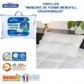 Oreiller ergonomique Mémofill 50x70 cm