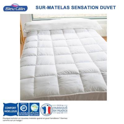 Sur-matelas Sensation Duvet - 500 g/m²