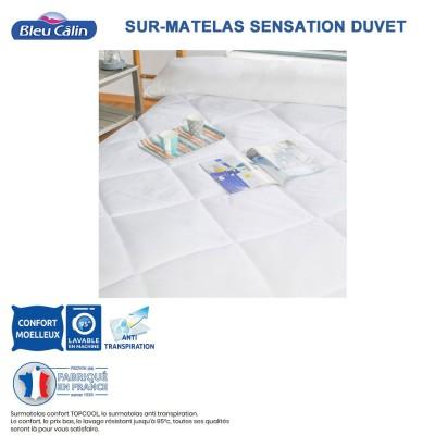 Sur- matelas Confort - 400 g/m²