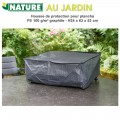 Housse de protection plancha H 24 x 63 x 53 cm