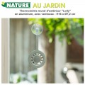 Thermomètre de jardin Lolly - H 16.2 x 7.2 cm