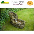 Fontaine cours d'eau de jardin polyrésine complète Aspen