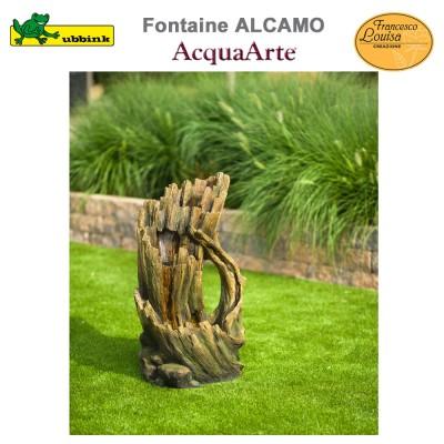 Fontaine cours d'eau de jardin polyrésine complète Alcamo