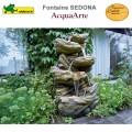 Fontaine cours d'eau de jardin polyrésine complète Sedona