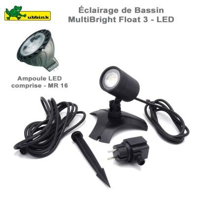 Eclairage LED avec transforamateur AquaSpotlight