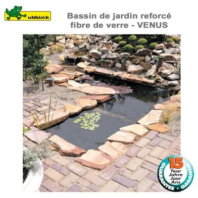 Bassin préfabriqué de jardin Venus