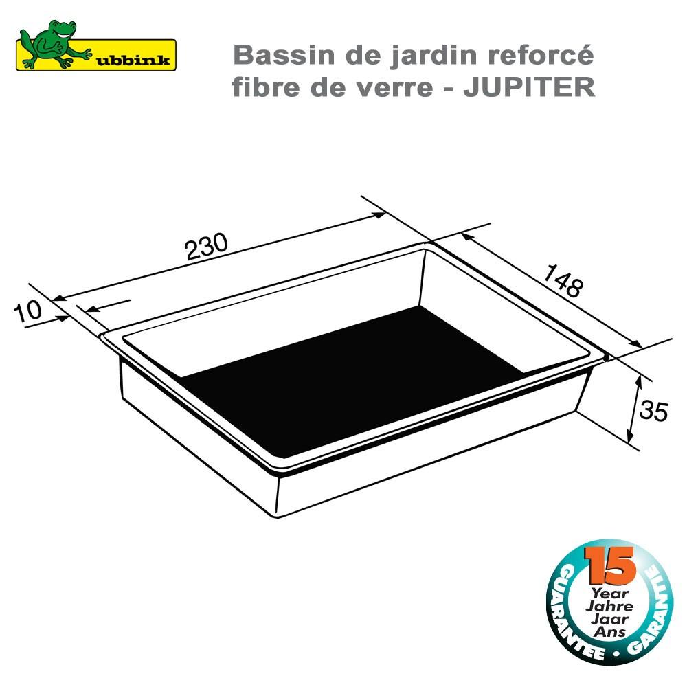 Jardin Préfabriqué H1 Jupiter Bassin De Jc3ulF51TK