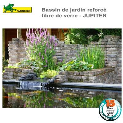 Bassin préfabriqué de jardin Jupiter H1