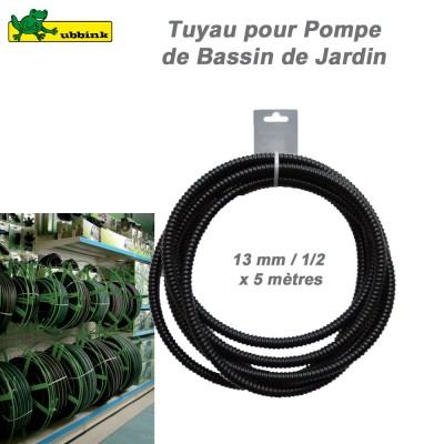 Tuyaux, 5 m mesures standard, préemballées - 13 mm