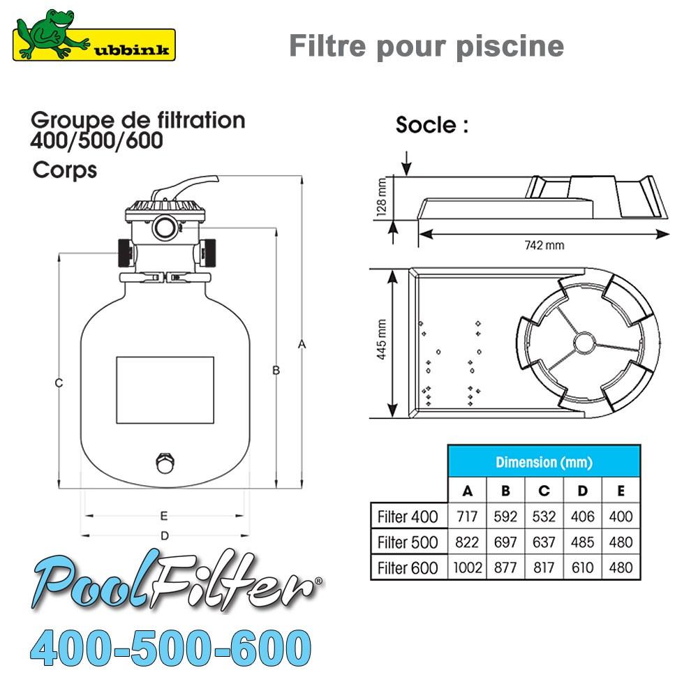 filtre sable pour piscine poolfilter 500. Black Bedroom Furniture Sets. Home Design Ideas