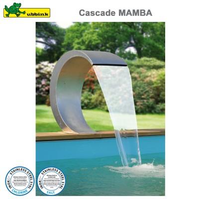 Cascade pour piscine Mamba inox 316