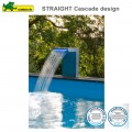 Cascade pour piscine Straight LED inox 316
