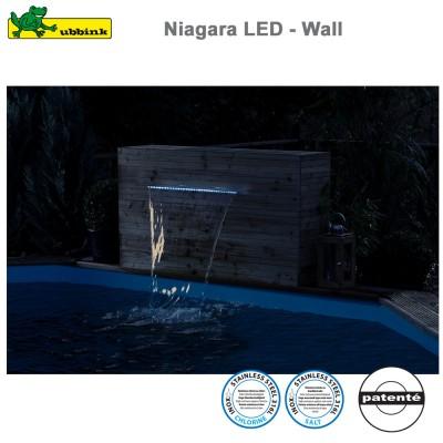 Cascade pour piscine Niagara 30 LED - Wall