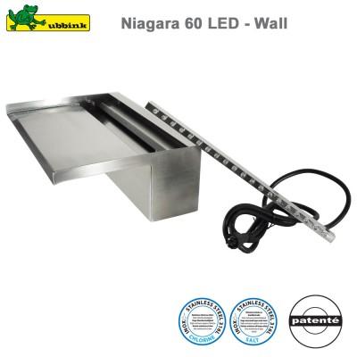 Cascade pour piscine Niagara 60 LED - Wall
