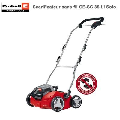 Scarificateur-aérateur sans fil GE-SC 35 Li Solo
