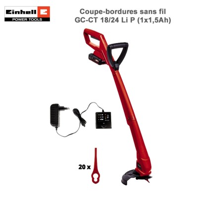 Coupe-bordures sans fil GC-CT 18/24 Li P (1x1,5Ah)