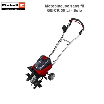 Motobineuse sans fil GE-CR 30 Li - Solo