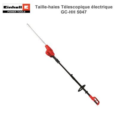 Taille-haies électrique télescopique GC-HH 5047