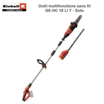 Outil multifonctions sans fil GE-HC 18 Li T- Solo