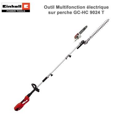 Outil multifonctions électrique sur perche GC-HC 9024 T
