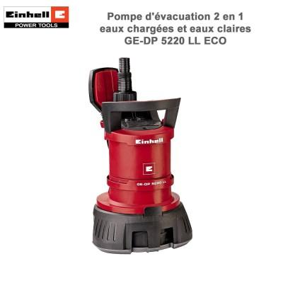 Pompe d'évacuation eaux chargées GE-DP 5220 LL ECO