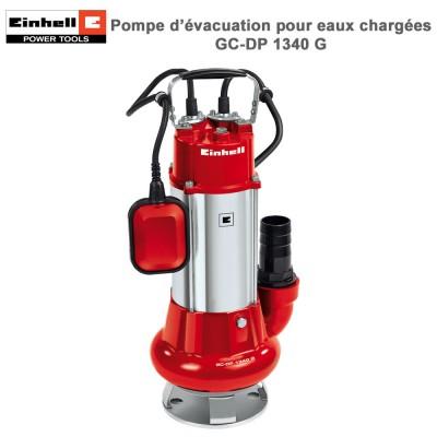 Pompe d'évacuation eaux chargées GC-DP 1340 G