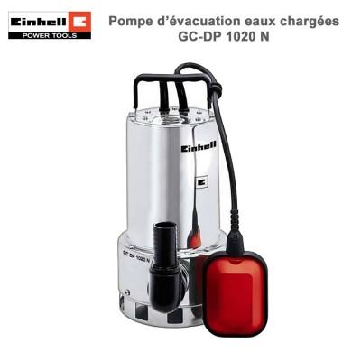 Pompe d'évacuation eaux chargées GC-DP 1020 N