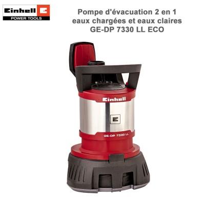 Pompe d'évacuation eaux chargées GE-DP 7330 LL ECO