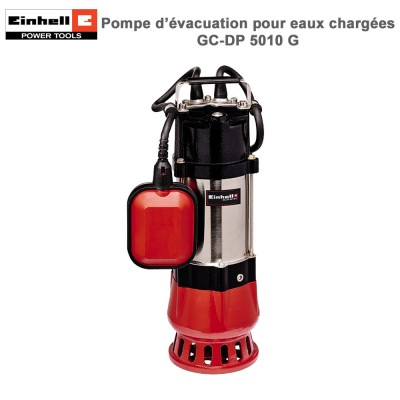 Pompe d'évacuation eaux chargées GC-DP 5010 G