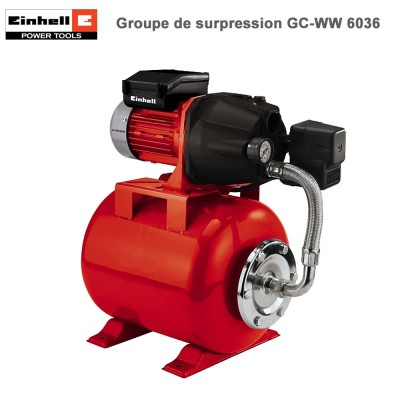 Pompe de Surpression GC-WW 6036
