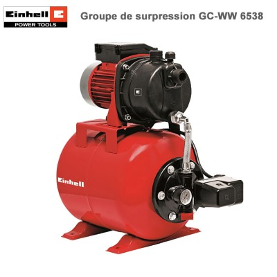 Pompe de Surpression GC-WW 6538