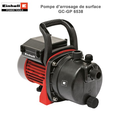 Pompe d'arrosage de surface GC-GP 6538