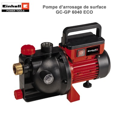 Pompe d'arrosage de surface GC-GP 6040 ECO
