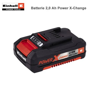 Batterie au Lithium-Ion 18V 2,0 Ah Power-X-Change